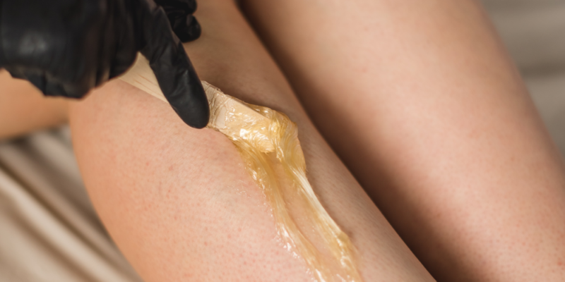 Depilacja woskiem